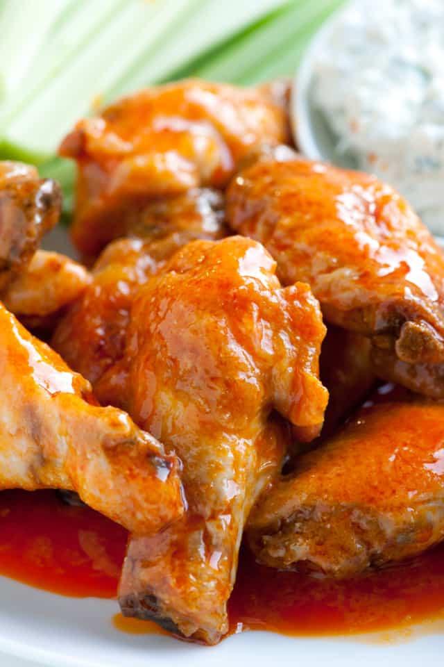 Easy Chicken Wings Recipe  Easy Baked Chicken Hot Wings Recipe