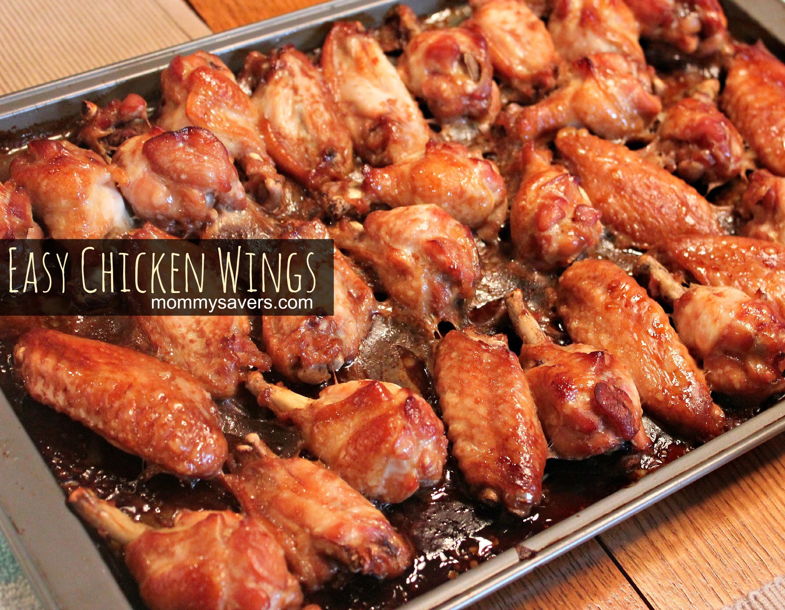Easy Chicken Wings Recipe  Easy Delicious Marinated Chicken Wings Recipe