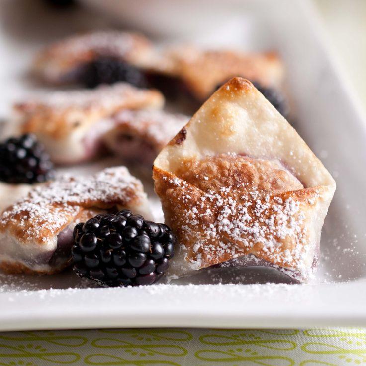 Easy Chinese Desserts  Blackberry Cabernet Wontons