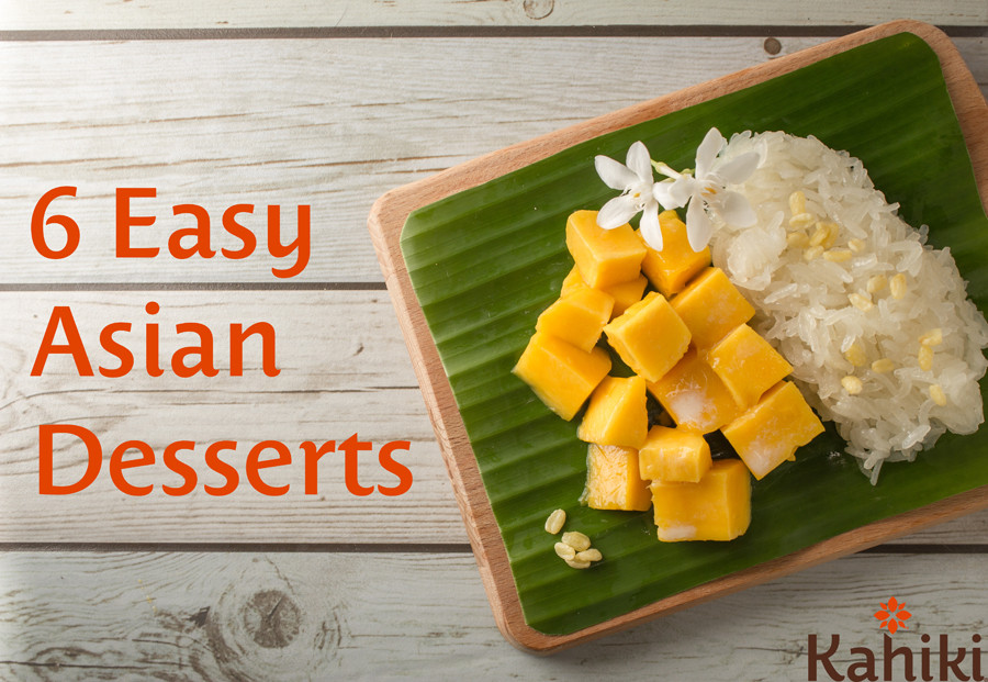 Easy Chinese Desserts  6 Easy Asian Desserts