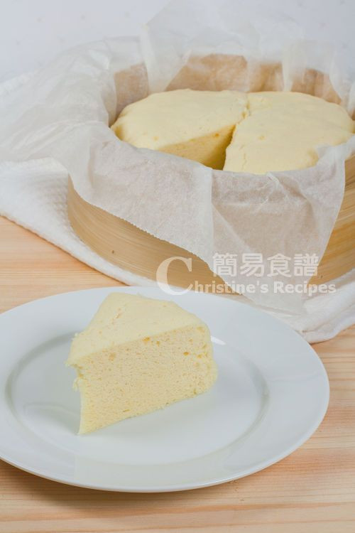 Easy Chinese Desserts  Steamed Cake Old fashioned Dim Sum