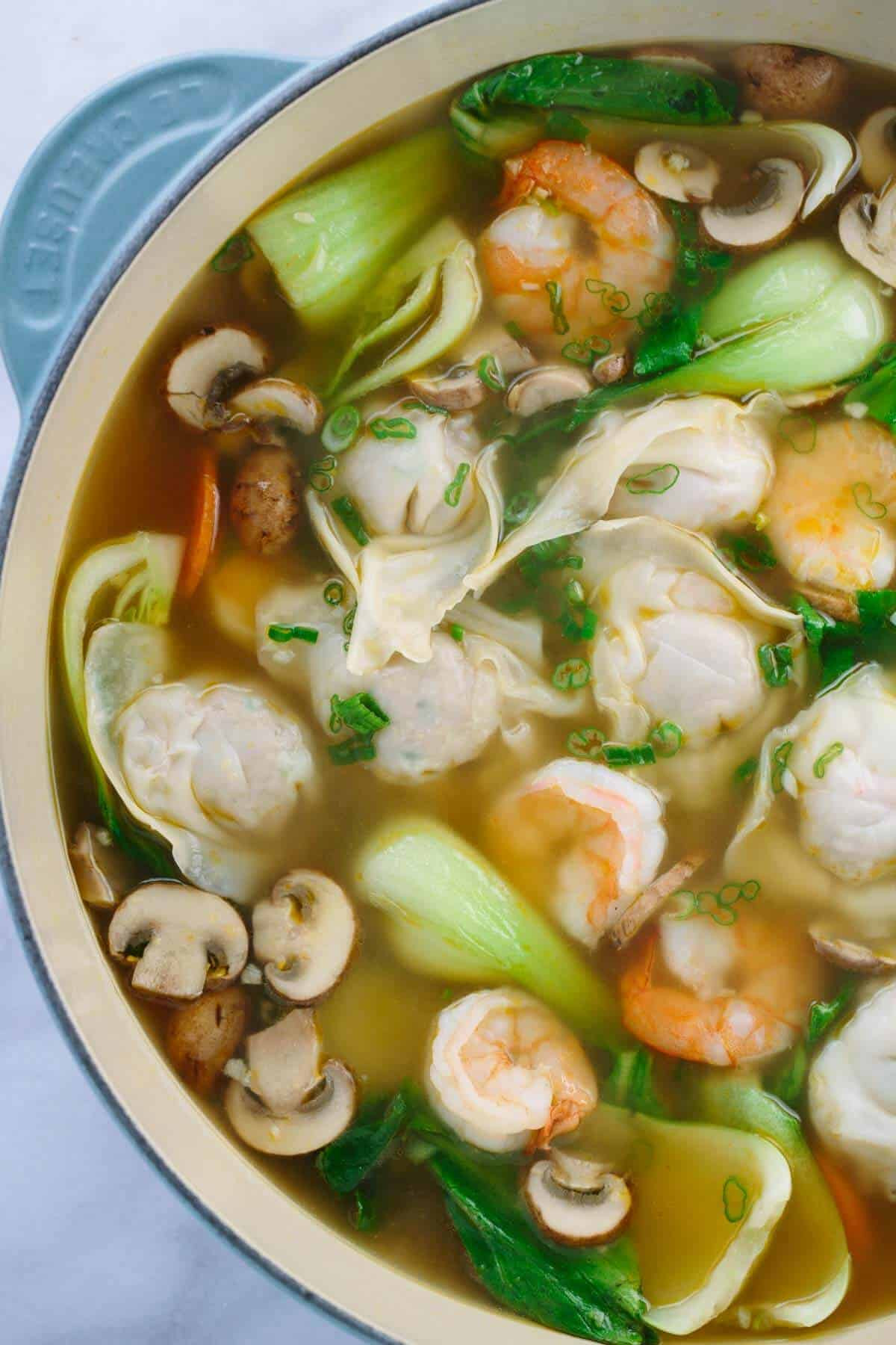 Easy Chinese Recipes  Easy Homemade Wonton Soup Recipe Jessica Gavin