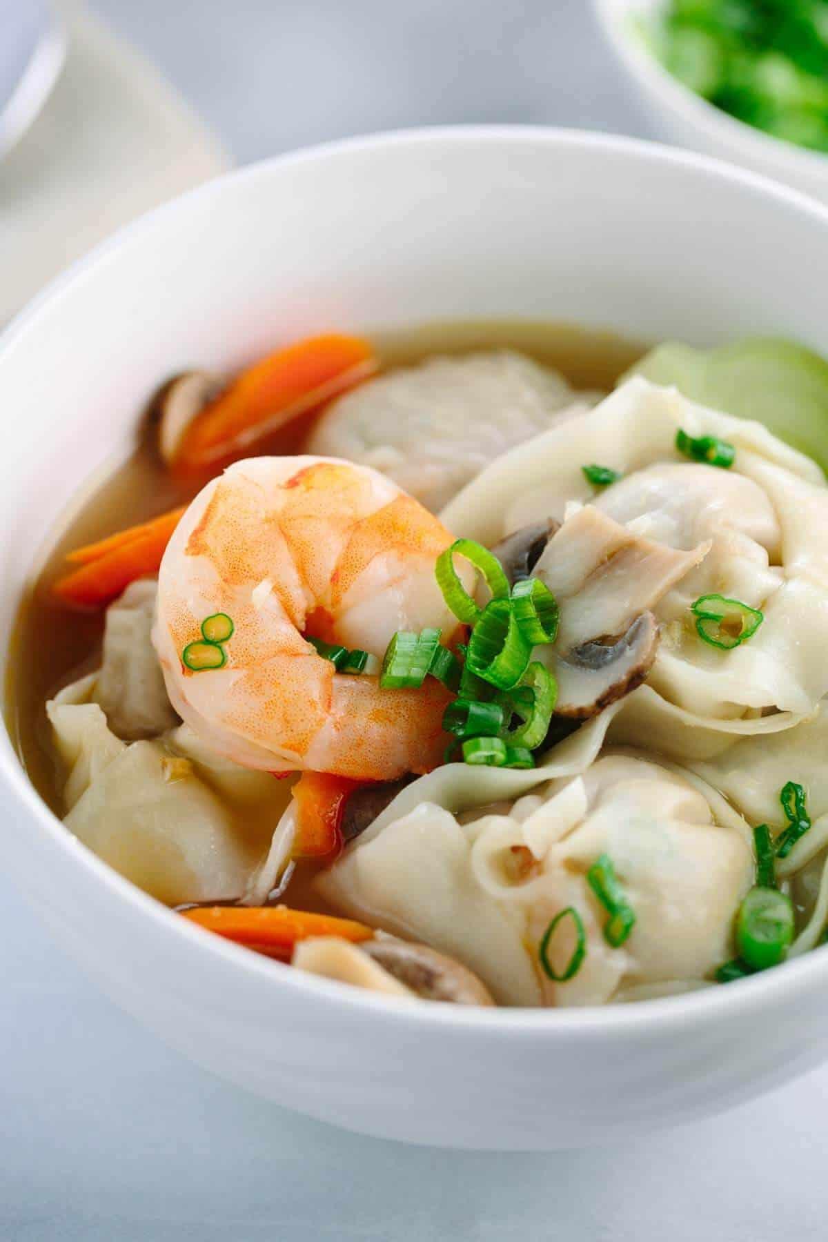 Easy Chinese Recipes  pork wonton filling recipe