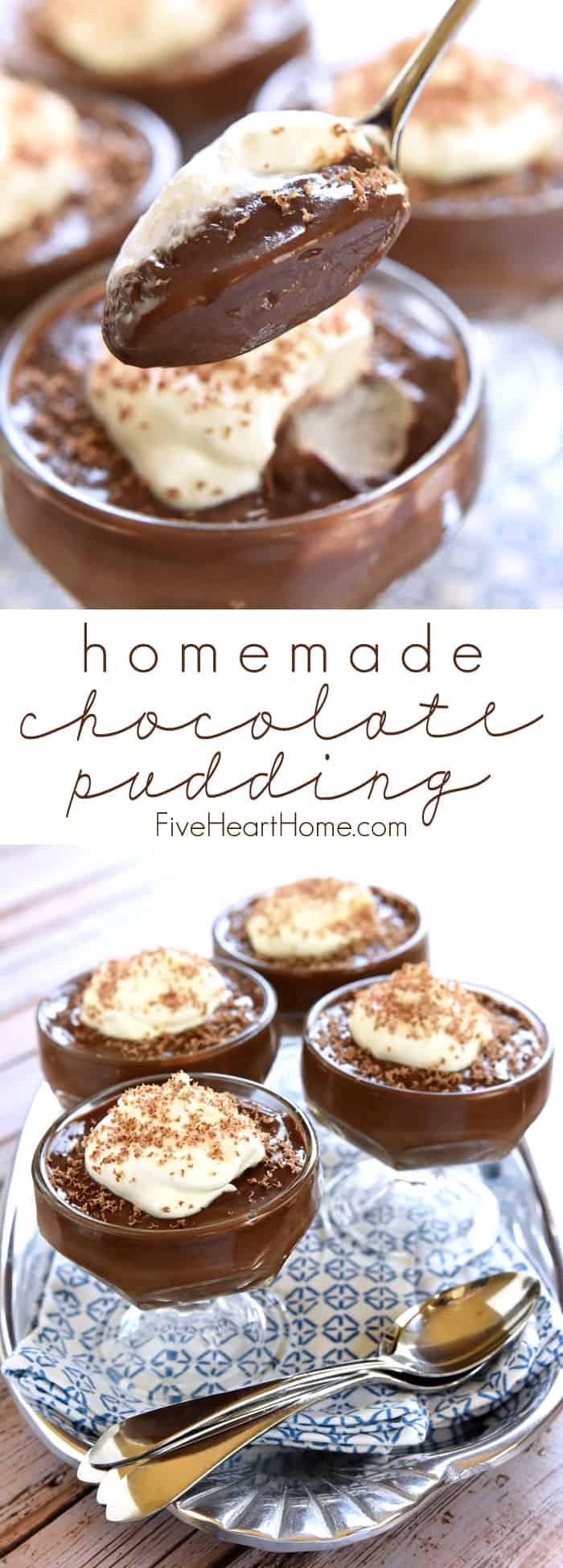 Easy Chocolate Puddings Recipes  Homemade Chocolate Pudding