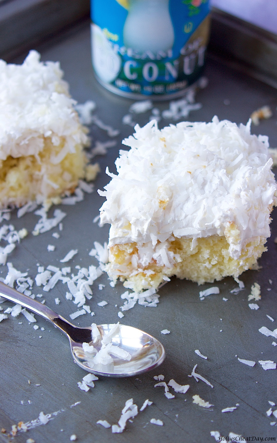 Easy Coconut Cake  Easy Coconut Cake HOLLY S CHEAT DAY