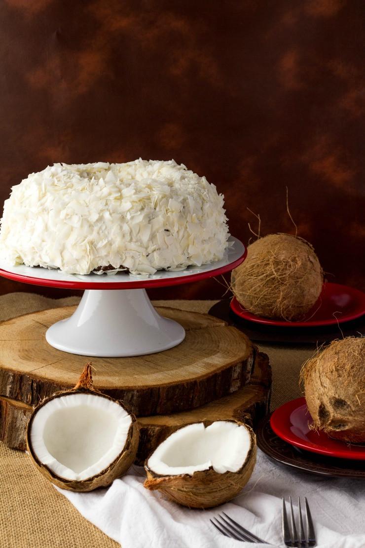 Easy Coconut Cake  Coconut Cake Recipe