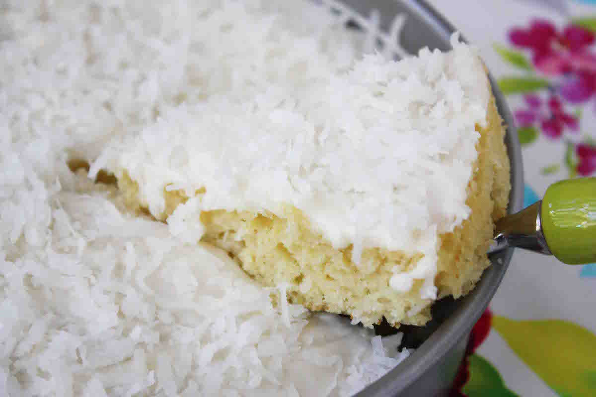 Easy Coconut Cake  Sweets