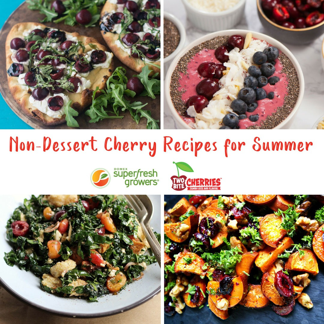 Easy Dessert Recipes For Kids To Make By Themselves  Non Dessert Cherry Recipes for Summer