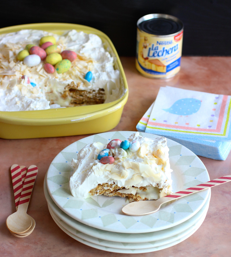 Easy Dessert Recipes With Condensed Milk  'Easy Sweet Condensed Milk and Crackers Dessert' and