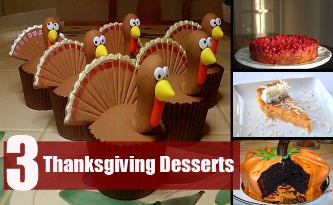 Easy Desserts For Thanksgiving  Ideas For Easy Thanksgiving Desserts Easy Thanksgiving