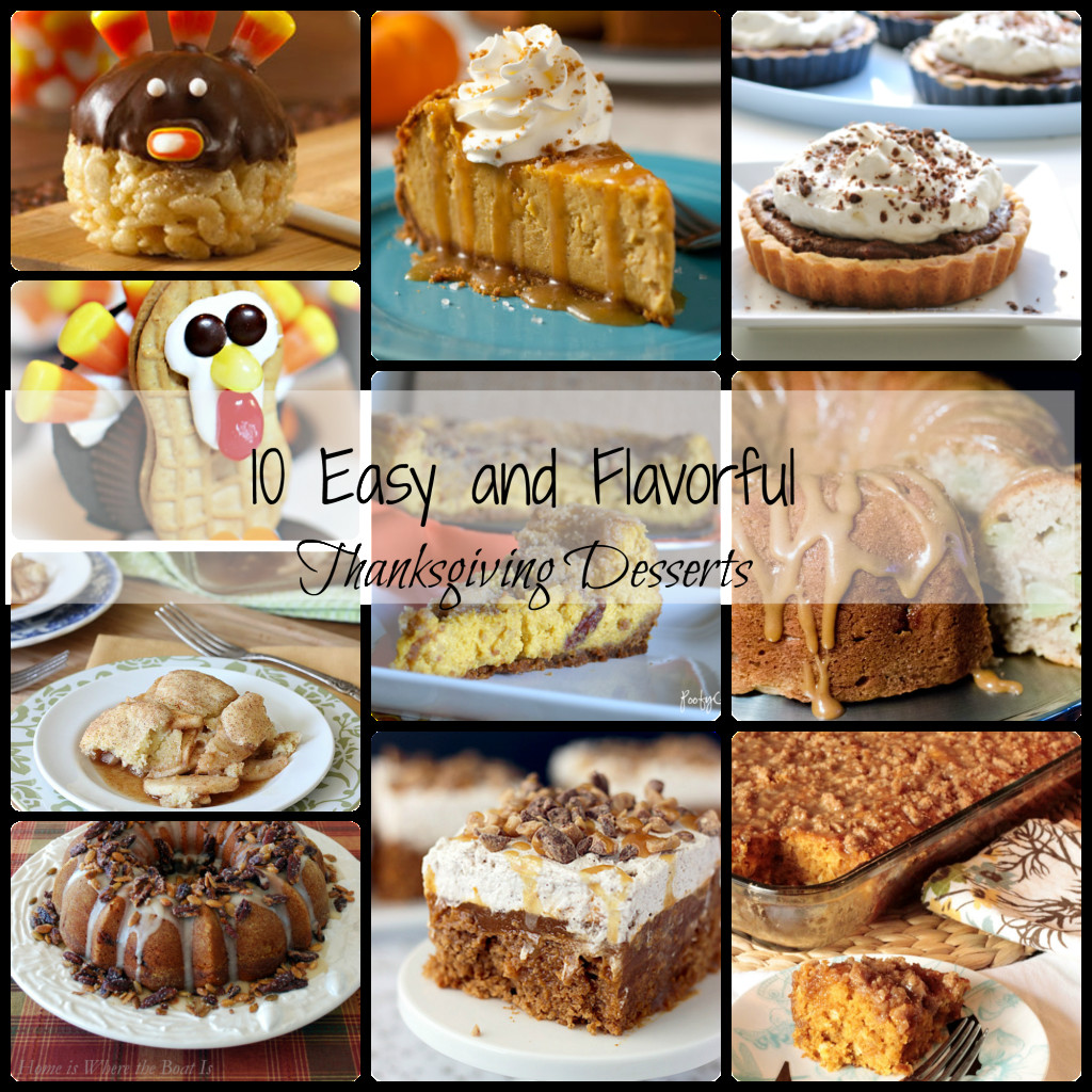 Easy Desserts For Thanksgiving  10 Easy Thanksgiving Desserts Dimple Prints