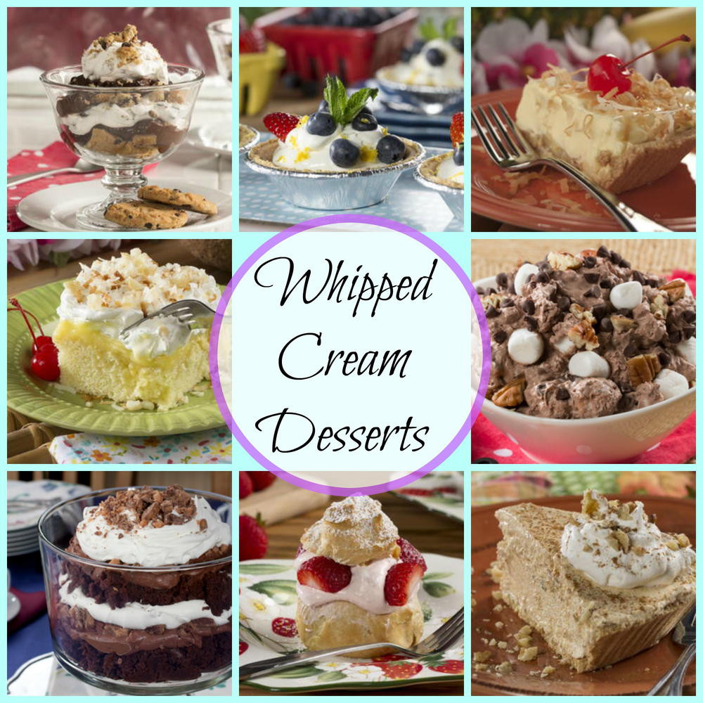 Easy Desserts With Heavy Whipping Cream  Whipped Cream Desserts 39 Whipping Cream Recipes