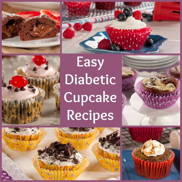 Easy Diabetic Recipes  8 Sweet and Easy Diabetic Cupcake Recipes