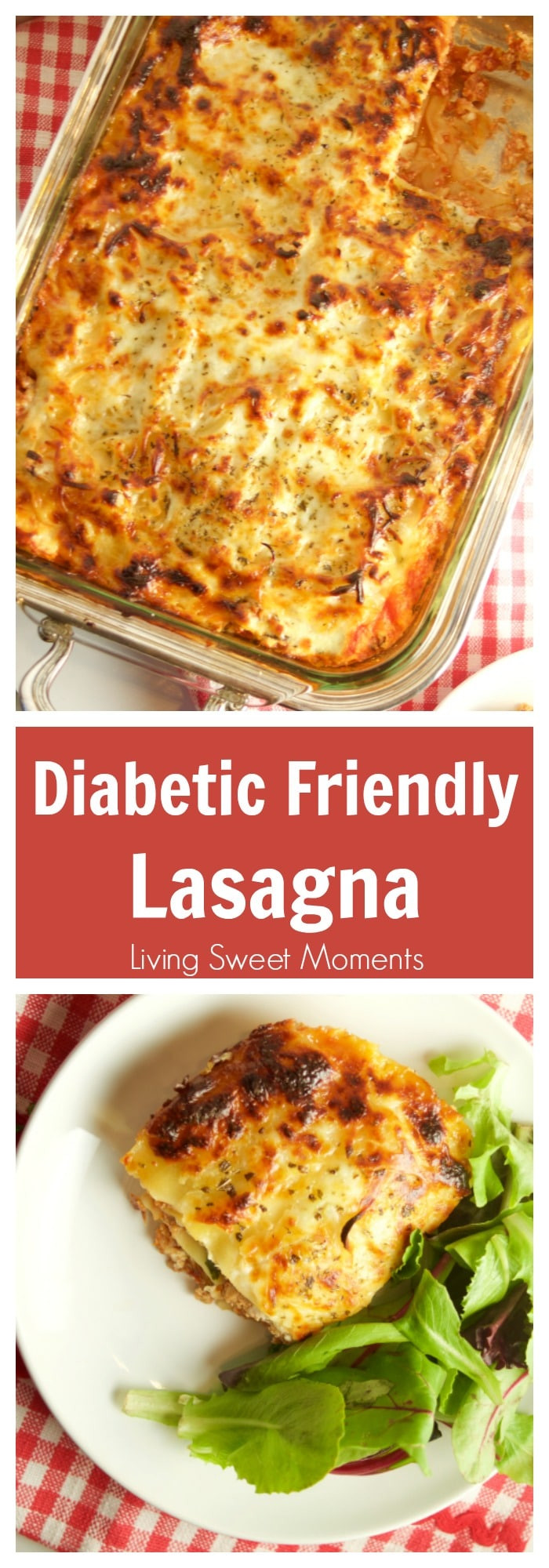 Easy Diabetic Recipes  Diabetic Lasagna Recipe Living Sweet Moments