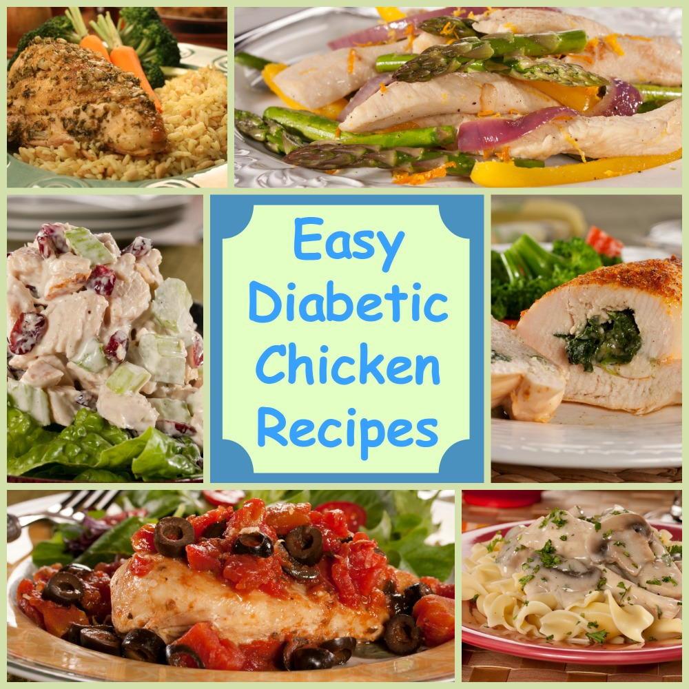 Easy Diabetic Recipes  Eating Healthy 18 Easy Diabetic Chicken Recipes