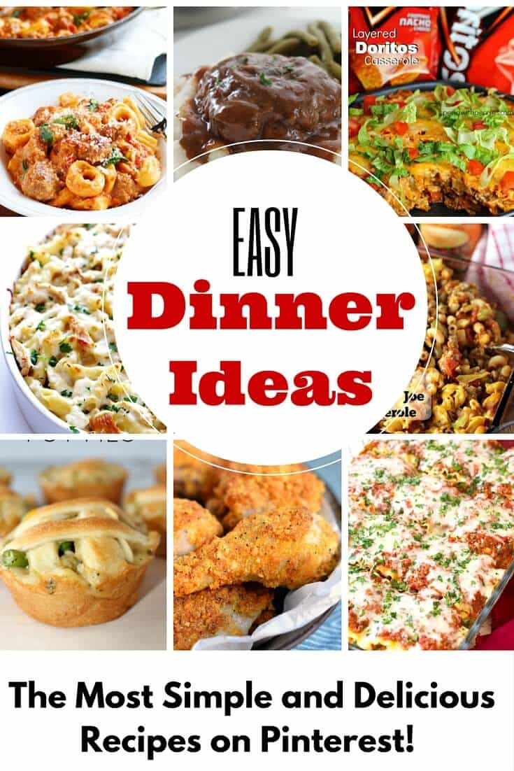 Easy Dinner Recipe  Dinner Ideas So Crazy Easy You Can Count Them in a Pinch