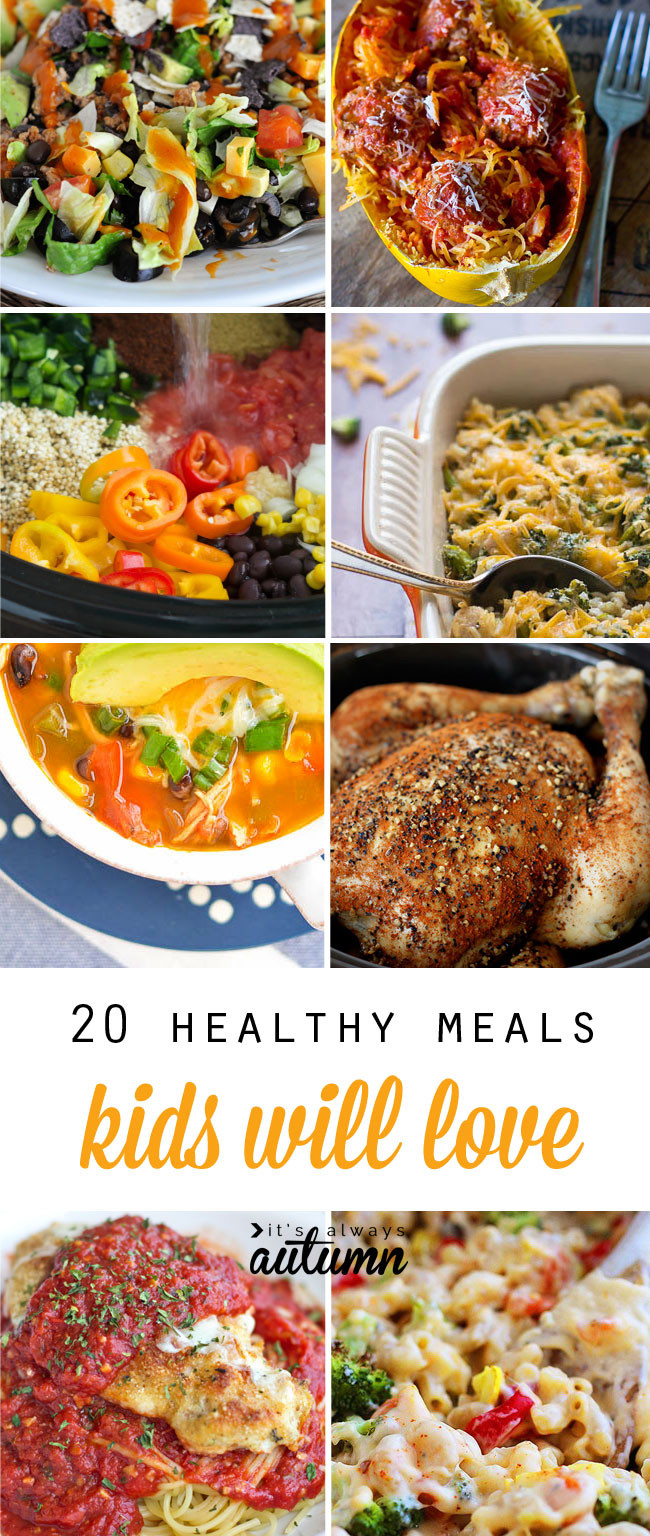 Easy Dinners For Kids  20 healthy easy recipes your kids will actually want to