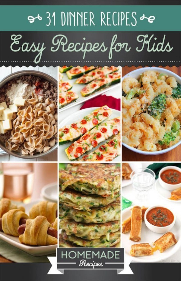 Easy Dinners For Kids  31 Easy Recipes Kids Can Make – Edible Crafts