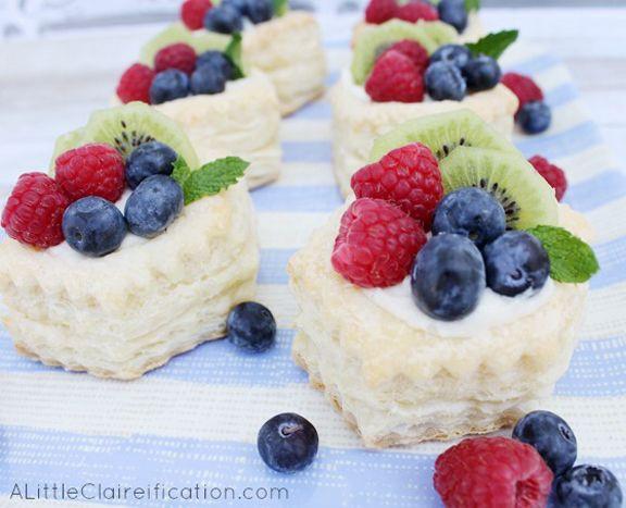 Easy Fruit Desserts  Best 25 Fruit tartlets ideas on Pinterest