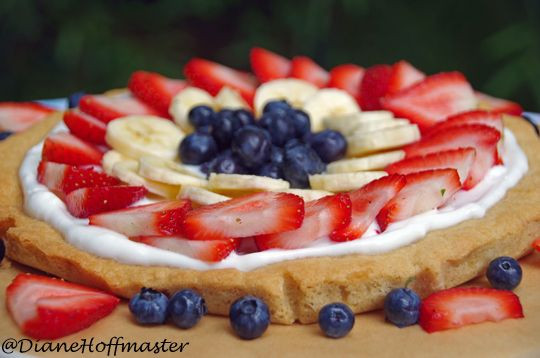 Easy Fruit Desserts  Simple Fruit Tart JuneFreshSavings Recipe