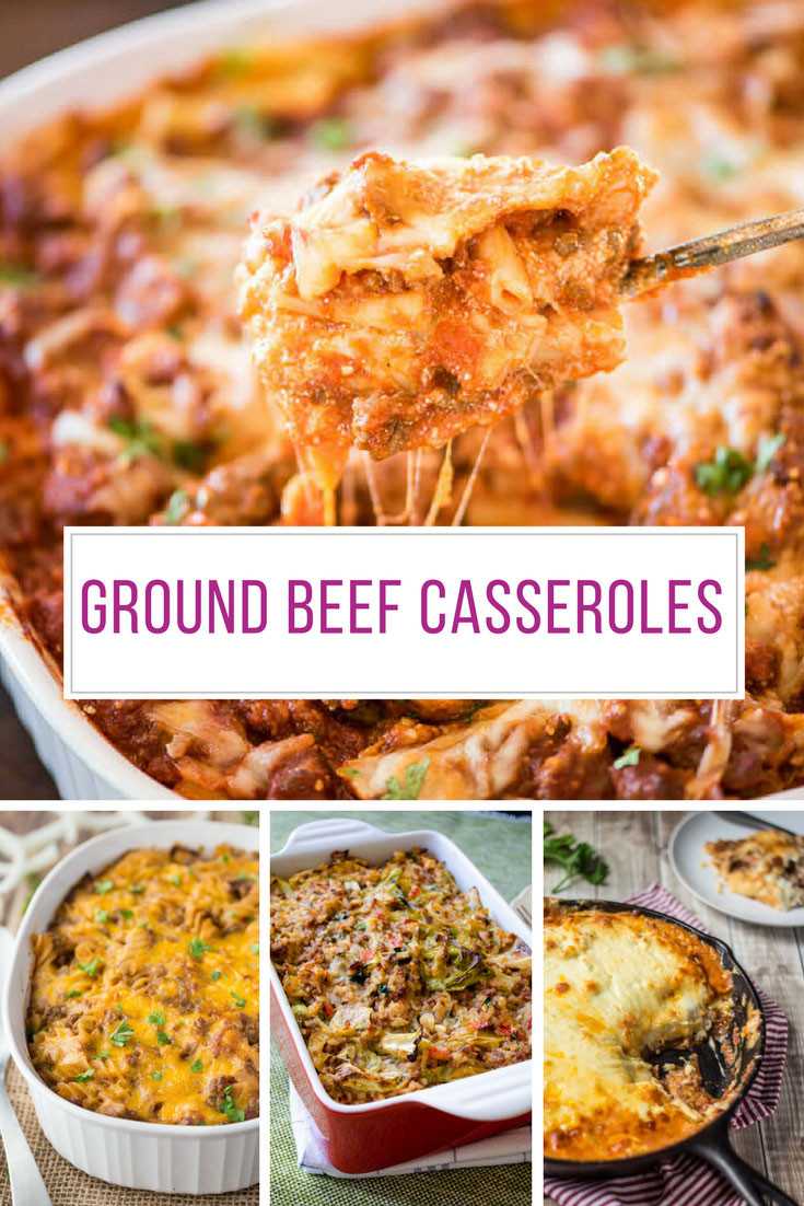 Easy Ground Beef Recipes  22 Easy Ground Beef Casserole Recipes You Need to Try