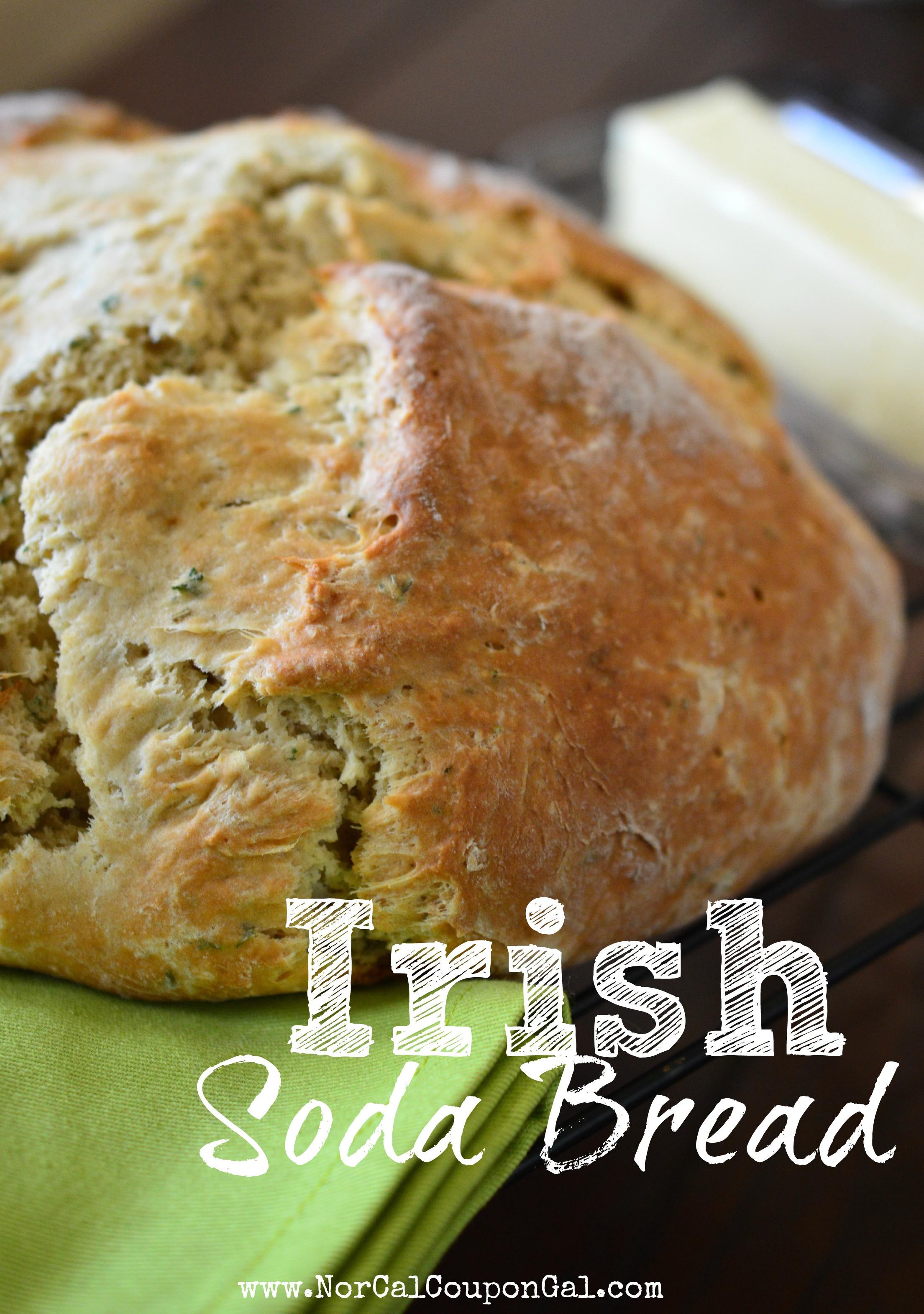 Easy Irish Soda Bread  Easy Irish Soda Bread Recipe