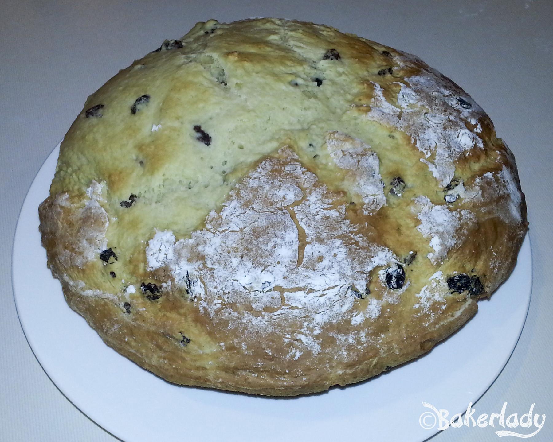 Easy Irish Soda Bread  Easy Irish Soda Bread – Bakerlady
