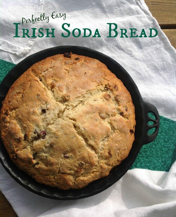 Easy Irish Soda Bread  Amazingly Easy Irish Soda Bread Recipe — Dishmaps