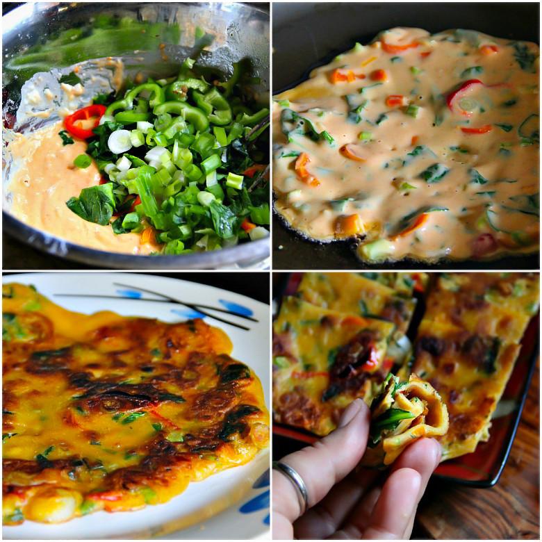 Easy Korean Breakfast Recipes  Korean Ve able Pancakes Sandra s Easy Cooking