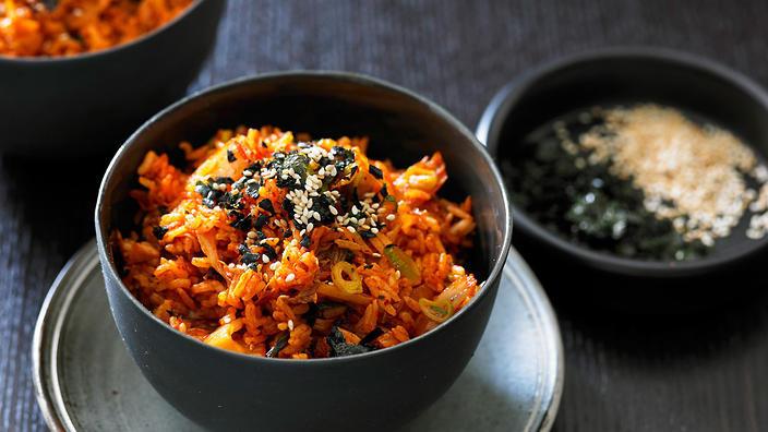 Easy Korean Breakfast Recipes  Kimchi fried rice Korean recipes