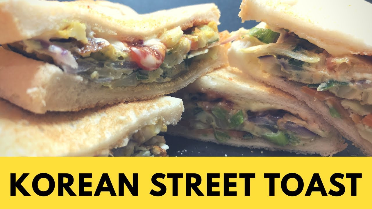 Easy Korean Breakfast Recipes  Korean Street Toast Calories