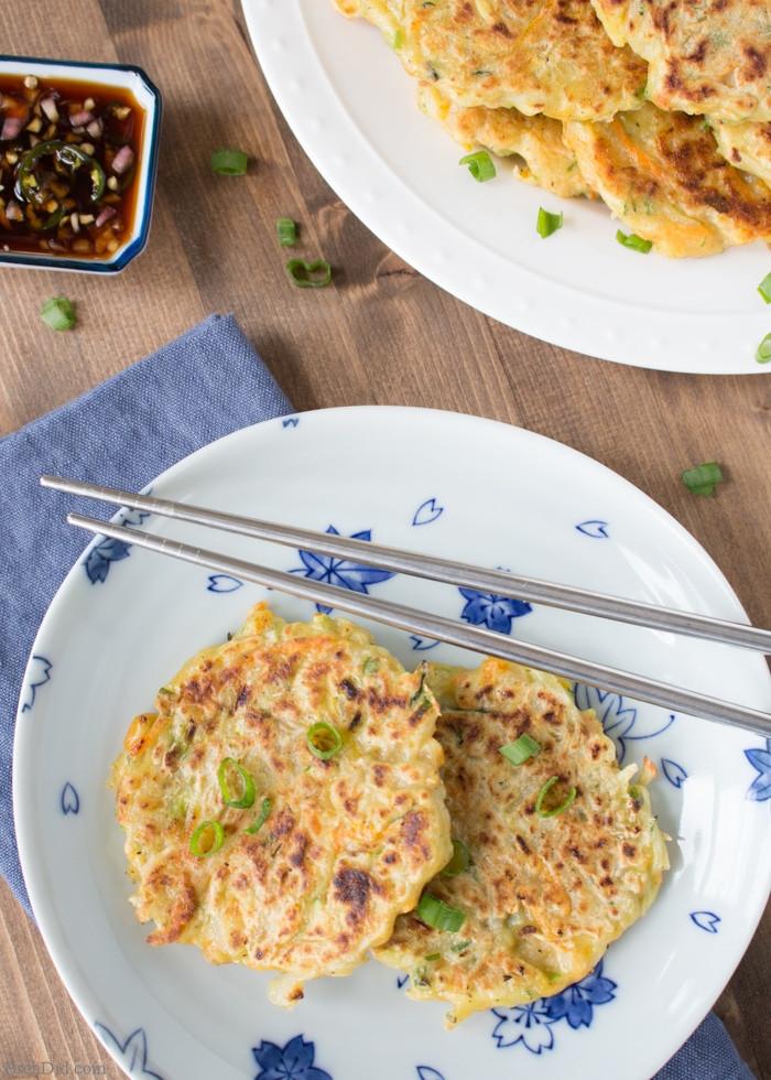 Easy Korean Breakfast Recipes  Korean Ve able Pancake