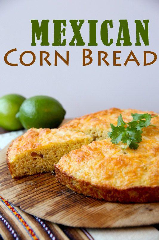Easy Mexican Cornbread  Easy Cornbread Recipes — Dishmaps