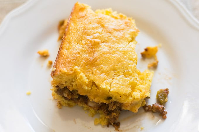Easy Mexican Cornbread  Easy Mexican Cornbread Recipe Thrift and Spice