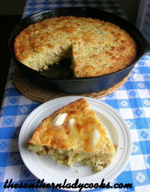 Easy Mexican Cornbread  MEXICAN CORNBREAD The Southern Lady Cooks