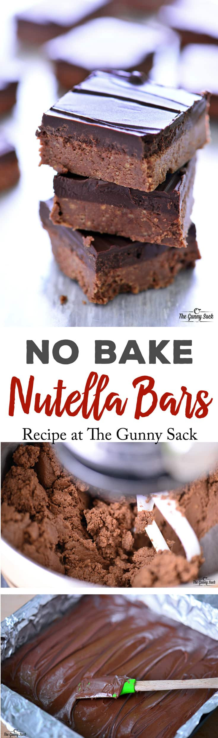 Easy Nutella Desserts  easy no bake nutella recipes