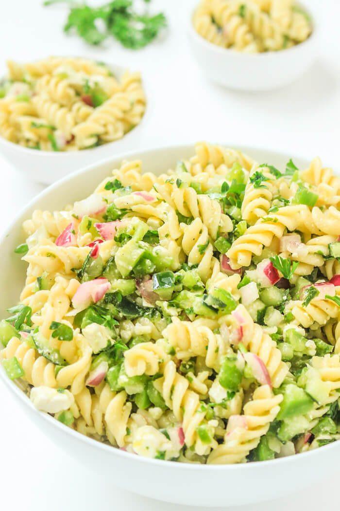 Easy Pasta Salad Recipes  Cold Italian Pasta Recipes Stunning Easy Pasta Salad