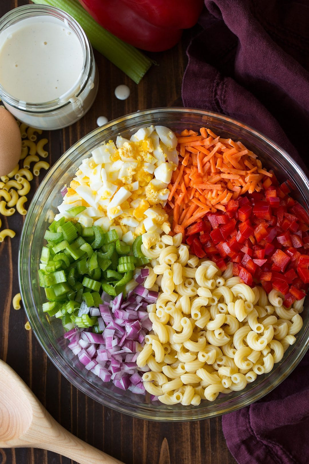 Easy Pasta Salad Recipes  Classic Macaroni Salad Easy Go To Side Dish  Cooking
