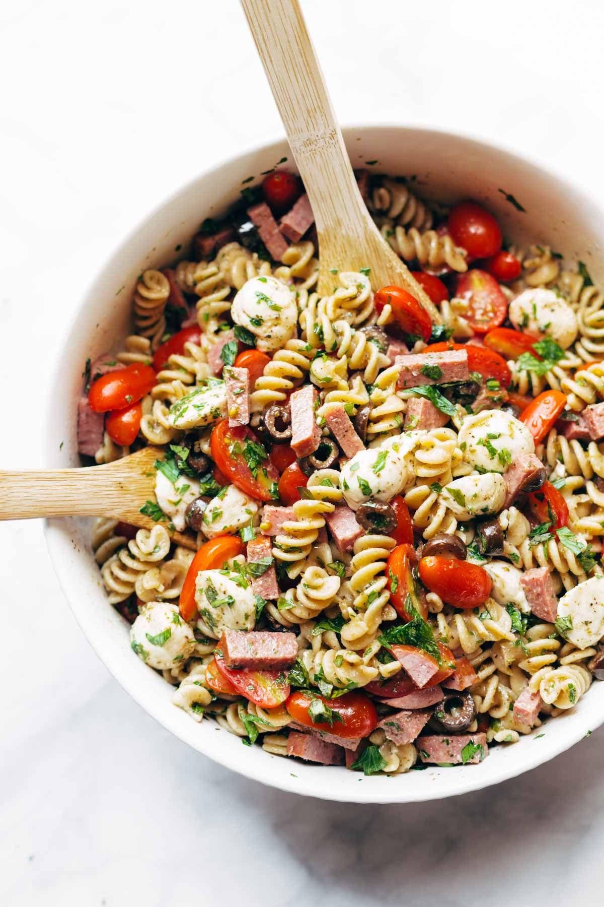 Easy Pasta Salad Recipes  Best Easy Italian Pasta Salad Recipe
