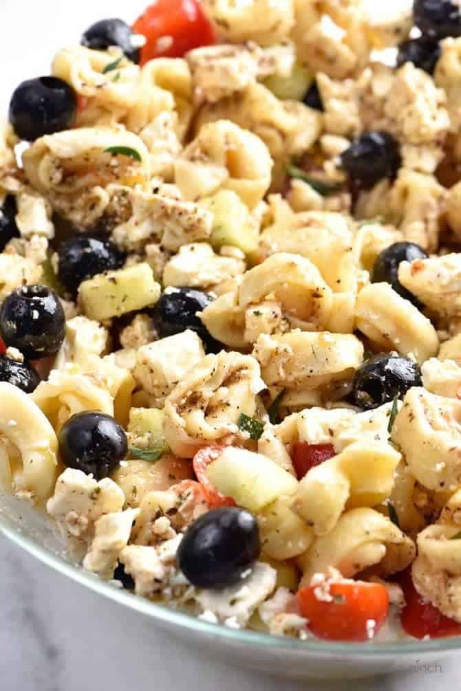 Easy Pasta Salad Recipes  Easy Tortellini Pasta Salad Recipe Add a Pinch