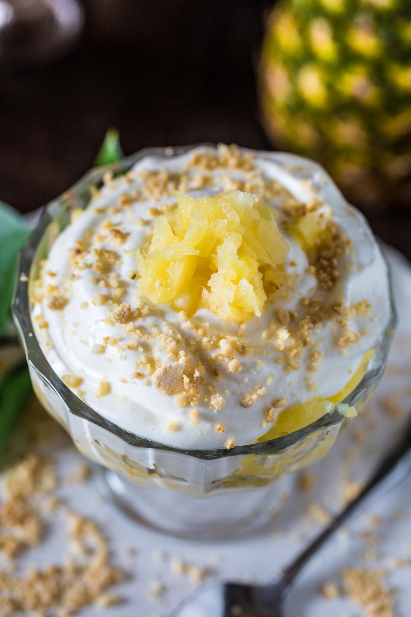 Easy Pineapple Desserts  Brazilian Pineapple Dessert Olivia s Cuisine