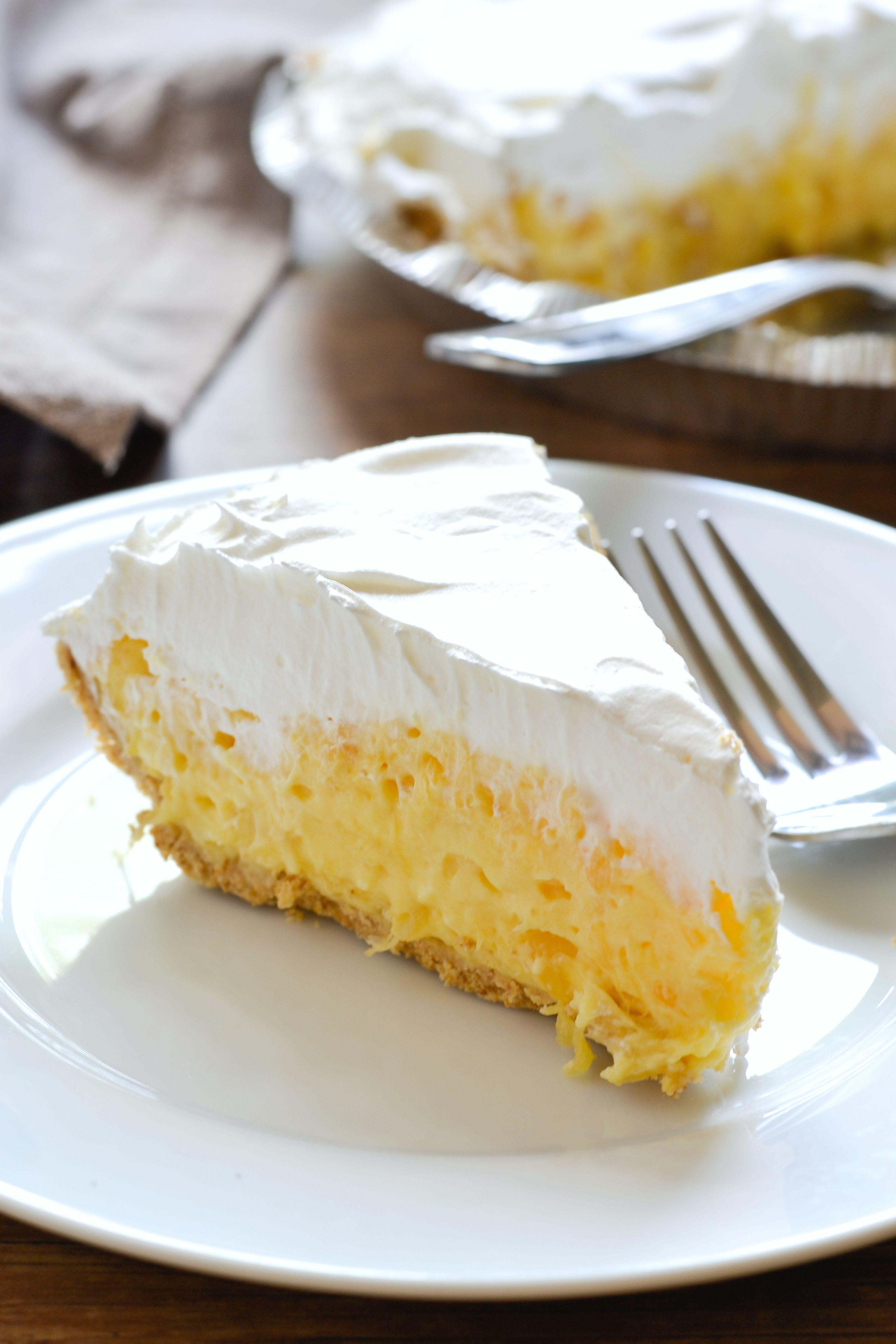Easy Pineapple Desserts  Pineapple Pie