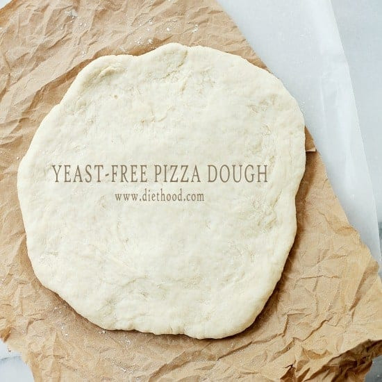 Easy Pizza Dough Recipe Without Yeast  Yeast Free Pizza Dough Recipe