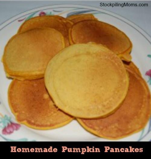 Easy Pumpkin Pancakes  Easy Pumpkin Pancakes – Freezer Recipe