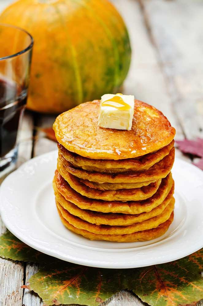Easy Pumpkin Pancakes  easy pumpkin pancakes from scratch