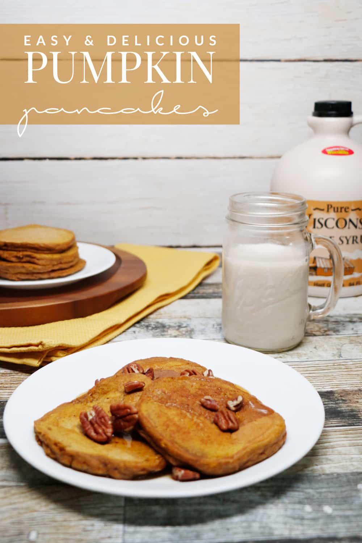 Easy Pumpkin Pancakes  Easy Pumpkin Pancakes Living La Vida Holoka