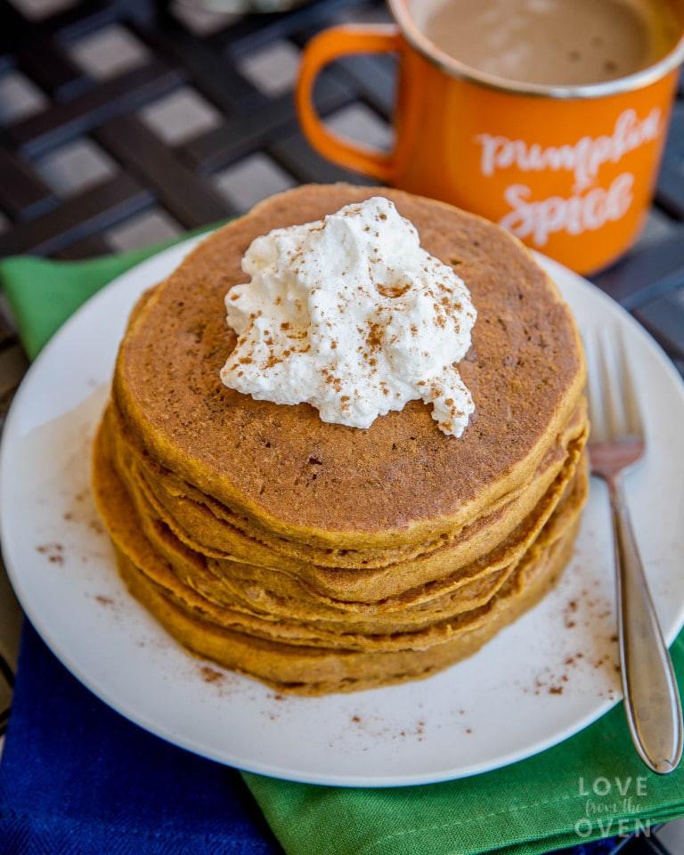 Easy Pumpkin Pancakes  Delicious Easy Pumpkin Pancakes Recipe