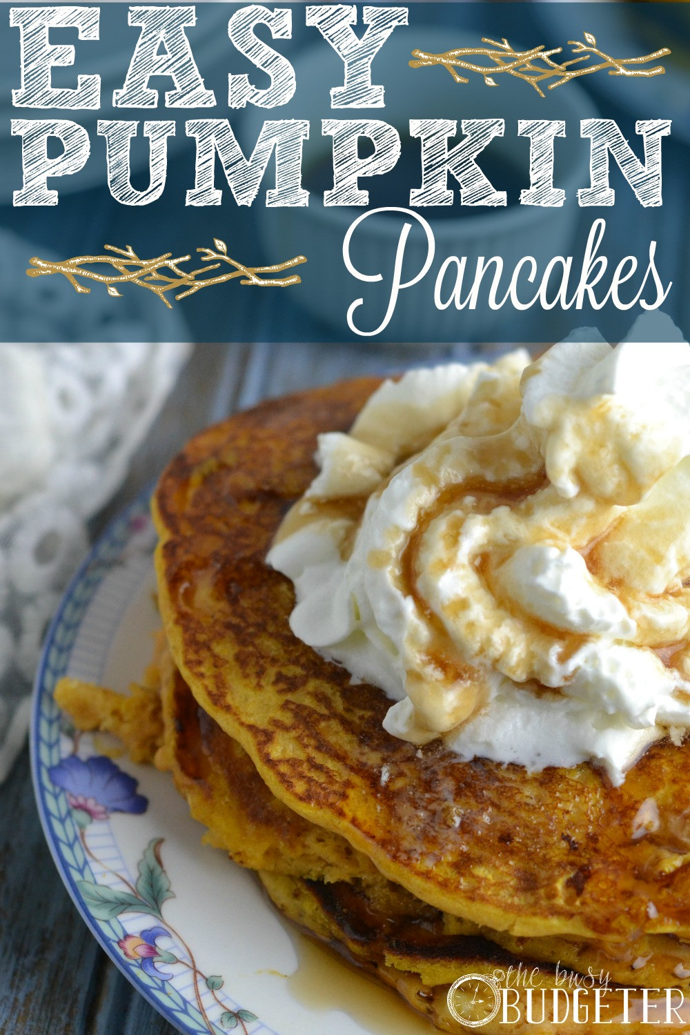 Easy Pumpkin Pancakes  Easy Pumpkin Pancakes Recipe – You Need This in Your life