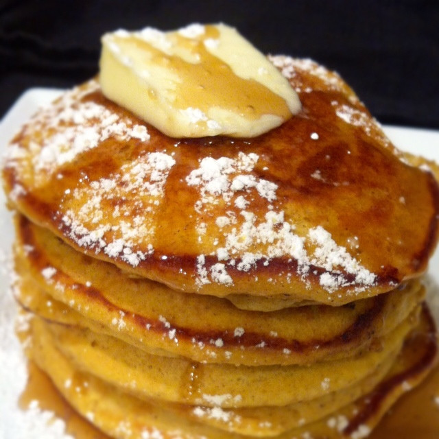 Easy Pumpkin Pancakes  Quick and Easy Pumpkin Pancakes Something Sweet