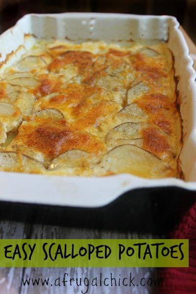Easy Scalloped Potatoes Recipe  Easy Scalloped Potatoes Recipe